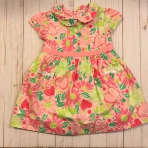 Lilly Pulitzer dress with Peter Pan/pretty collar